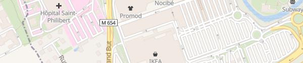 Karte IKEA Lille Lomme
