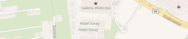 Karte Hotel Soray Wieliczka