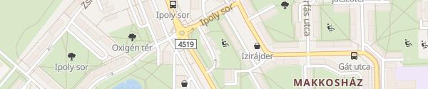 Karte MOL Tankstelle Szeged