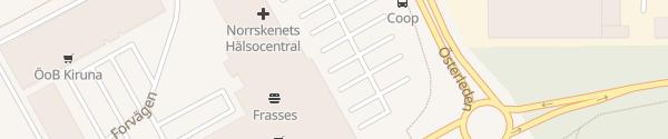 Karte Stora Coop Kiruna