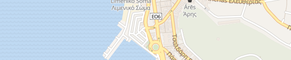 Karte Hafen Igoumenitsa