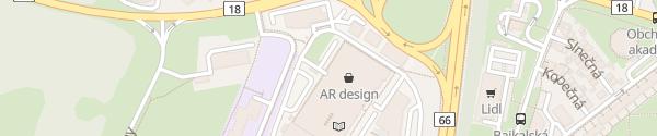 Karte ZOC MAX Poprad