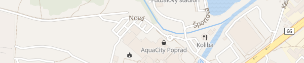 Karte AquaCity Poprad