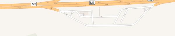 Karte MOL Rekettyés déli Kál