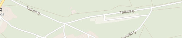 Karte Ortseingang Nida