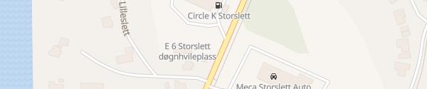 Karte Circle K Storslett