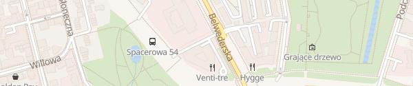 Karte Supercharger Regent Hotel Warsaw