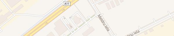 Karte Satiksmes iela Liepāja