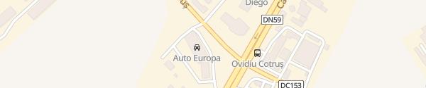 Karte Renault Auto Europa Timișoara