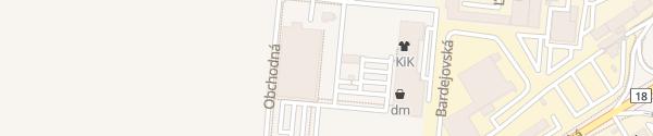 Karte Kaufland Ľubotice