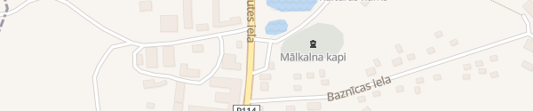 Karte Aizputes iela Priekule