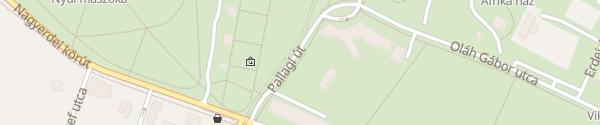 Karte Nagyerdei Stadion Mélygarázsa Debrecen