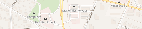 Karte McDonald's Pori