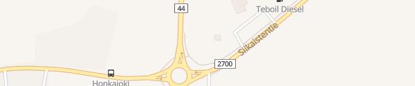 Karte ST1 Honkajoki