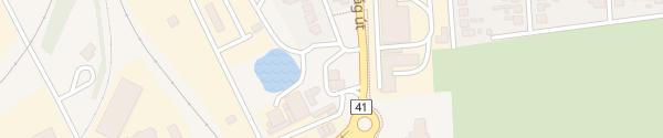 Karte MOL Tankstelle Vásárosnamény