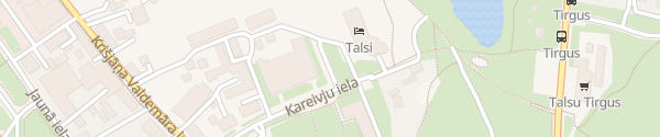 Karte Kareivju iela Talsi