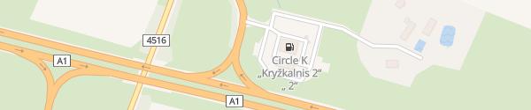 Karte IONITY Circle K Kryžkalnis Bijotų