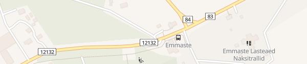 Karte Vallamaja Emmaste