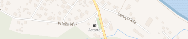 Karte Astarte Roja