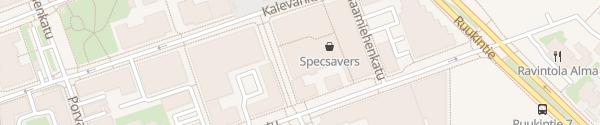 Karte Koulukatu Seinäjoki