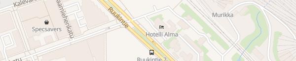 Karte Hotelli-Ravintola Alma Seinäjoki