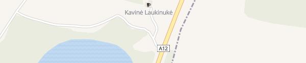 Karte Rastplatz Vaidžiai