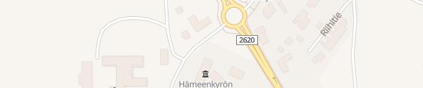 Karte Hämeenkyrön kunnantalo Hämeenkyrö