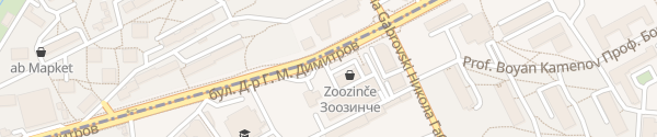 Karte Fantastico bulevard Doctor G. M. Dimitrov Sofia