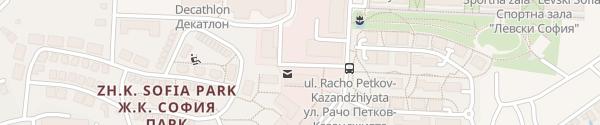 Karte Sofia Park Shopping Center Bistritsa