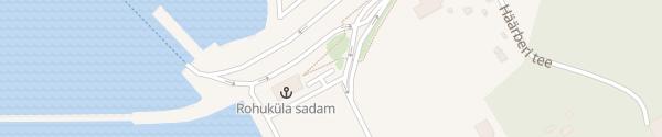 Karte Fährterminal Rohuküla
