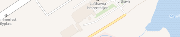 Karte Flughafen Hammerfest
