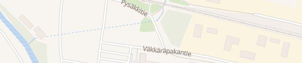 Karte Hotelli OnnenTähti Tuuri