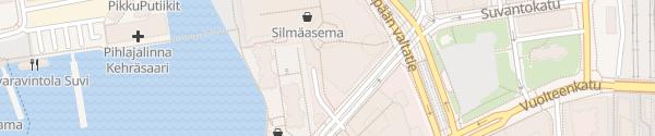 Karte Koskikeskus AC Tampere