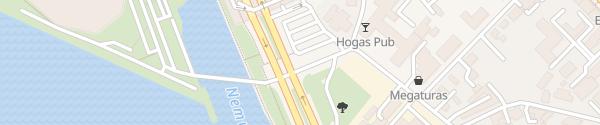 Karte Akropolis Kaunas