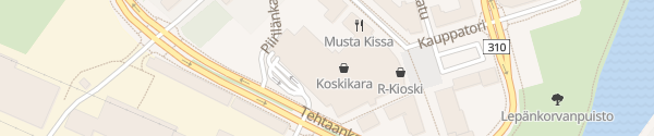 Karte Koskikara Valkeakoski