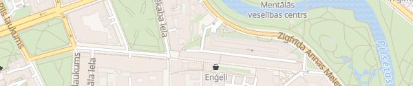 Karte Parkgarage Jekaba Arkade Riga