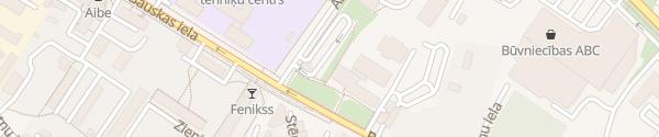 Karte Schnelllader am CSDD Riga