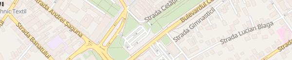 Karte Parkplatz Unirii Sibiu