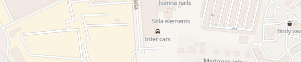 Karte Ervitex Rīga