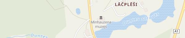 Karte Minhauzena Muzejs Dunte