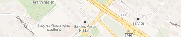 Karte Ikšķiles novada Tūrisma informācijas centrs Ikšķile