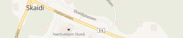 Karte Supercharger Skaidiplassen Kvalsund