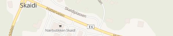 Karte Skaidiplassen Skaidi