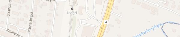 Karte Circle K Laagri Tallinn