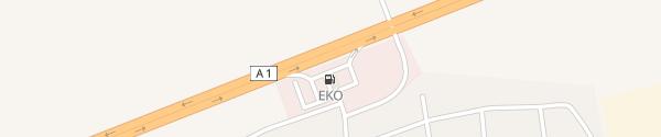 Karte EKO A1 122km Plovdiv