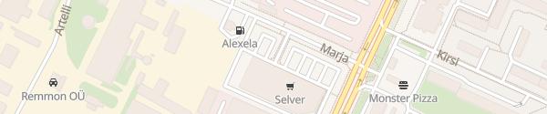 Karte Marienthali Keskus Tallinn