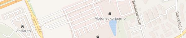 Karte Motonet Hannus Espoo