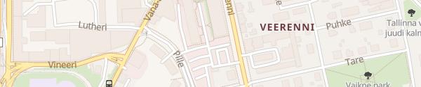 Karte Baltika Kvartal Tallinn