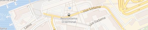 Karte D-Terminal Tallinn