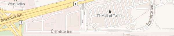 Karte T1 Mall of Tallinn Tallinn
